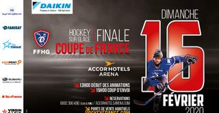 Finale de Coupe de France de Hockey sur Glace 2020 - AccorHotels Arena de Paris
