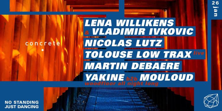 Annulé  - Concrete : Lena Willikens & Vladimir Ivkovic, Nicolas Lutz