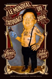 Le Mondial du Tatouage 2014