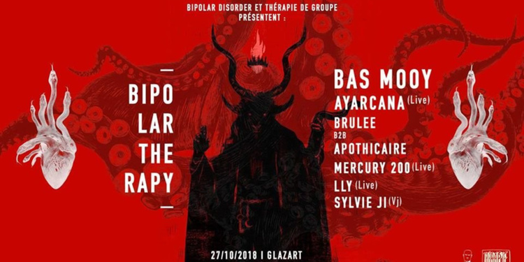 Bipolar Therapy with Bas Mooy, Ayarcana (Live) & More