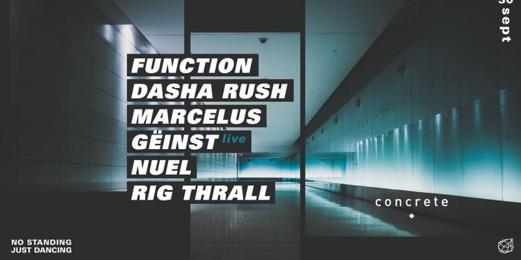 Concrete: Function / Dasha Rush / Marcelus / Geinst / Nuel