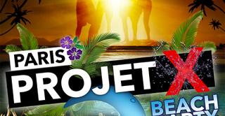 Projet X Beach party