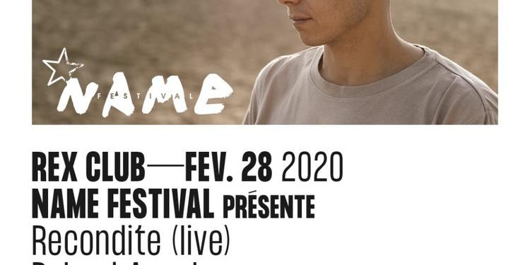 Name Festival Présente: Recondite Live, Roland Appel, Apm001, Mala Ika