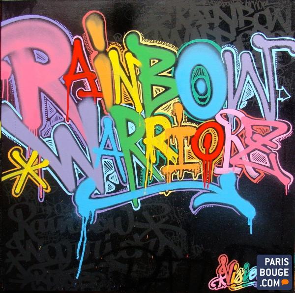 Rainbow Warrior I Ii Y Iii Greenpeace: Rainbow Warrior, L'expo Graffiti Et Funky