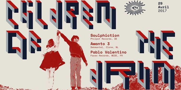 Children of the Drum w/ Soulphiction, Awanto 3, Pablo Valentino