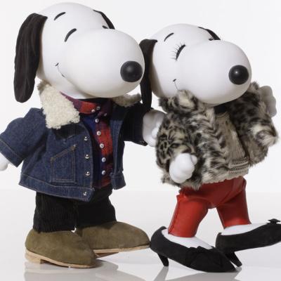 Expo Snoopy & Belle in Fashion à Paris : Snoopy en version haute couture