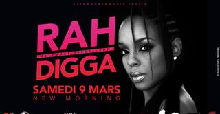 Rah Digga en concert au New Morning
