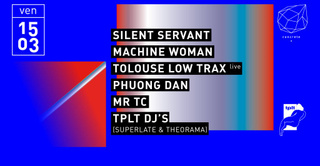 Concrete: Silent Servant, Machine Woman, Tolouse Low Trax Live