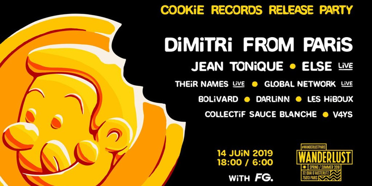 Cookie Records release party