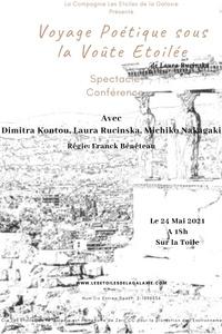 Voyage Poétique sous la Voûte Etoilée - Sur la Toile - lundi 24 mai