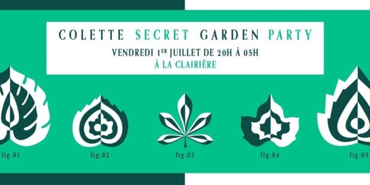 Colette Secret Garden Party