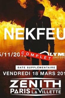 Nekfeu en concert #feutour
