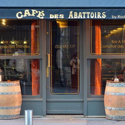Café des Abattoirs, nouveau temple de la viande des Rostang