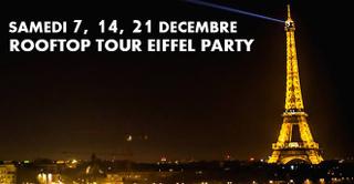 ROOFTOP TOUR EIFFEL PARTY (GRATUIT avec INVITATION à TELECHARGER)