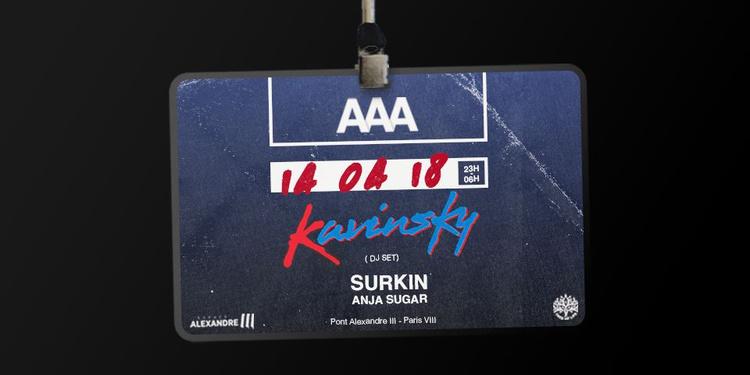 Reporté au 14 avril ! AAA : Kavinsky