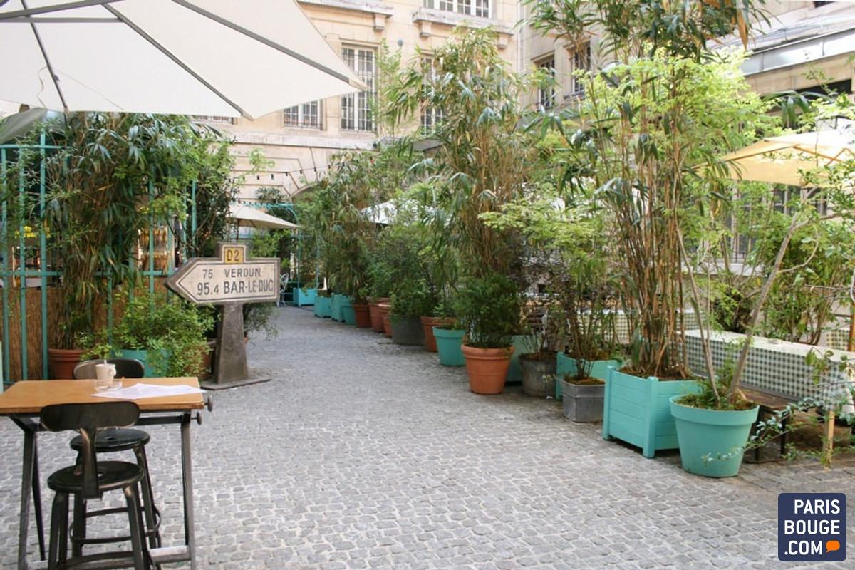 Au Paris Le Crédit MunicipalApéro Bucolique Jardin De PknO80wX
