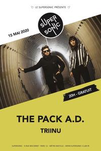 The Pack AD • Triinu • The Fabulist / Supersonic (Free entrance) - Le Supersonic - vendredi 15 mai
