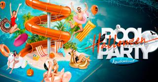 Aquaboulevard Halloween Pool Party