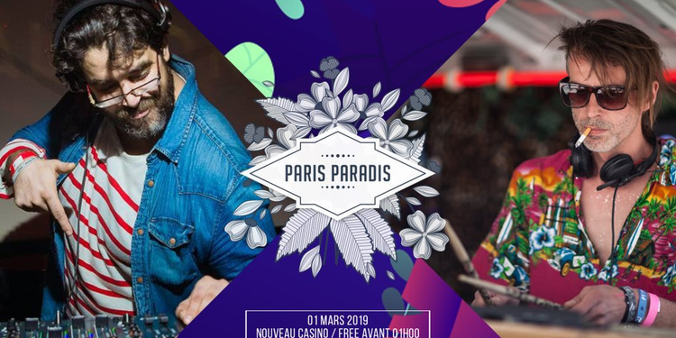 Paris Paradis Invite Romain Play & Grego G