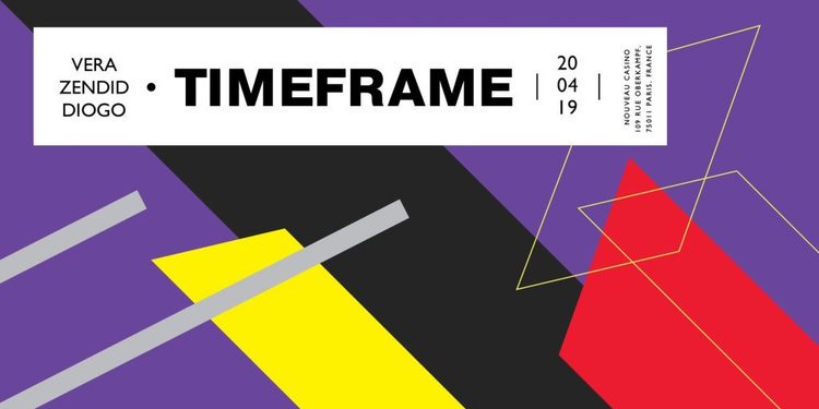 Timeframe: Vera, Zendid & Diogo