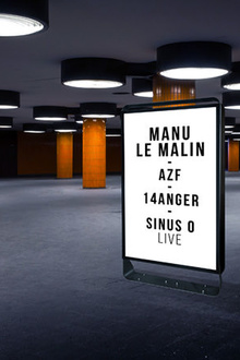 Open Minded Party : Manu Le Malin, AZF, 14anger, Sinus O live