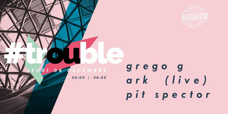 Trouble : Grego G - Ark (live) - Pit Spector