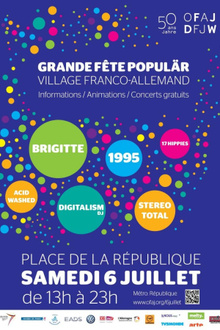 Grande Fête Populär - Village Franco-Allemand