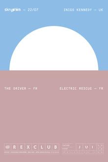 SKRYPTOM W/INIGO KENNEDY - THE DRIVER - ELECTRIC RESCUE