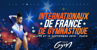 INTERNATIONAUX DE FRANCE DE GYMNASTIQUE 2019