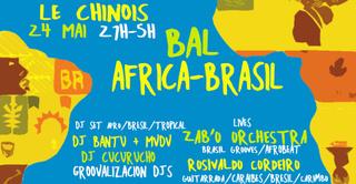 Bal Africa-Brasil ~ afro/brésil/caraïbes & luso-tropical party !