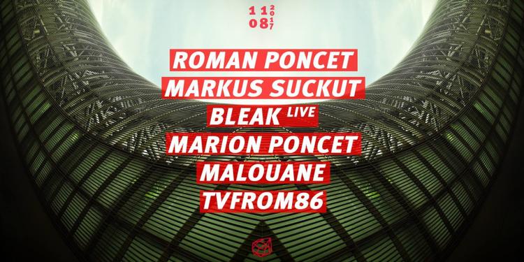 Concrete: Roman Poncet / Markus Suckut / Bleak / Malouane