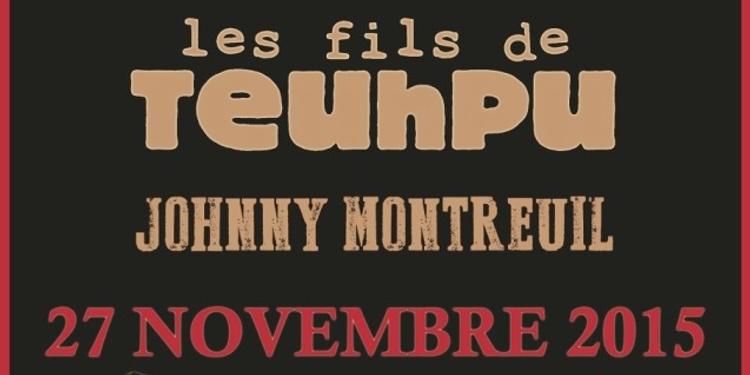 Les Wampas + Les Fils De Teuhpu + Johnny Montreuil en concert