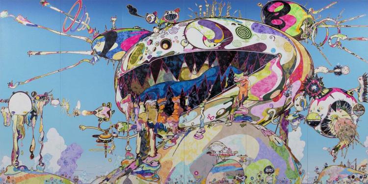 Au diapason du monde / Takashi Murakami