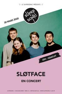 Sløtface en concert au Supersonic (Free entrance) - Le Supersonic - lundi 30 mars
