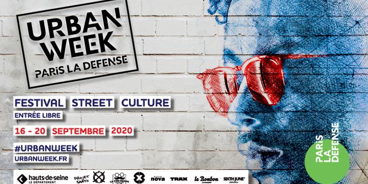 FESTIVAL URBAN WEEK DE PARIS LA DEFENSE DU 16 AU 20 SEPTEMBRE