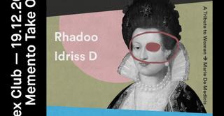 Memento Takes Over: Rhadoo & Idriss D