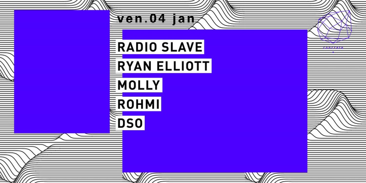 Concrete: Radio Slave, Ryan Elliott, Molly, Rohmi, DSO