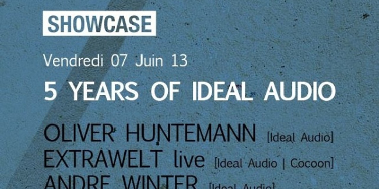 5 years of Ideal Audio : Oliver Huntemann, Extrawelt live