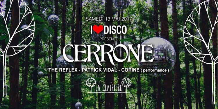 I Love Disco avec Cerrone, The Reflex, Patrick Vidal, Corine