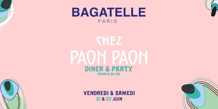 """Bagatelle """"Weekend"""""""