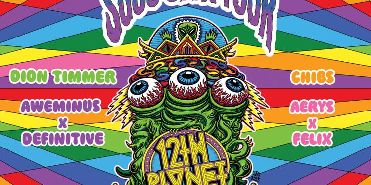 SPLASH x 12th Planet - Yoyo, Paris - 24.11.17