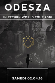 Odesza en concert - In Return World Tour 2016