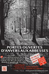 Portes ouvertes d'Anvers aux Abbesses - Point D'accueil : Atelier d'Orsel - du ven. 15 nov. au dim. 17 nov.