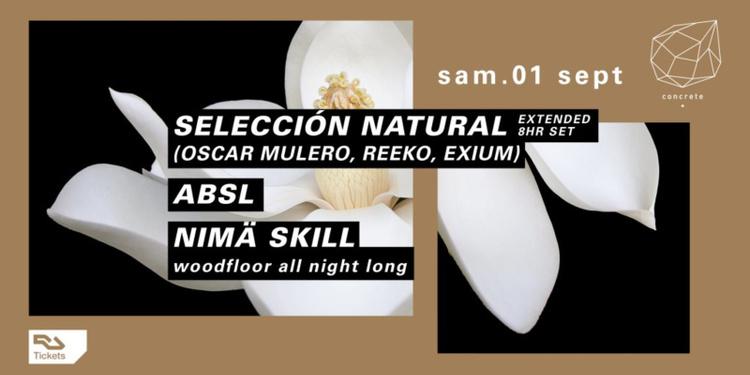 Concrete Pres. Selección Natural: Oscar Mulero, Reeko, Exium