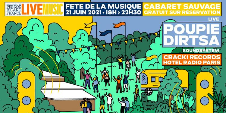 La Fête de la Musique avec Société Pernod Ricard Live Music