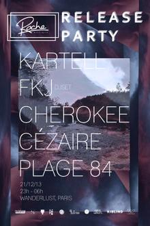 Roche Musique : Kartell, Fkj, Cherokee, Cézaire, Plage 84