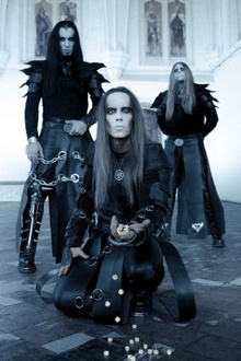 Behemoth + Cradle Of Filth + in solitude + inquisition + guest