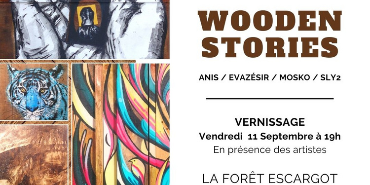 EXPOSITION WOODEN STORIES