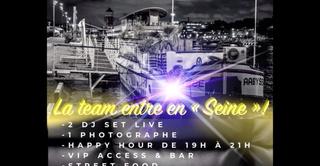 EKI-NOX PARTY 2: Soirée Péniche à Paris