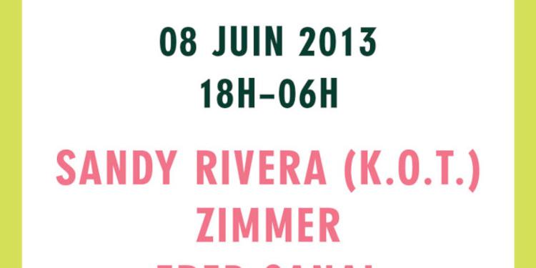 Nouveau Disco avec Sandy Rivera, Zimmer, Fred Canal, Himan